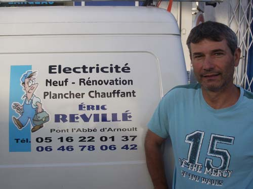Photo Enseigne ELECTRICITE REVILLE